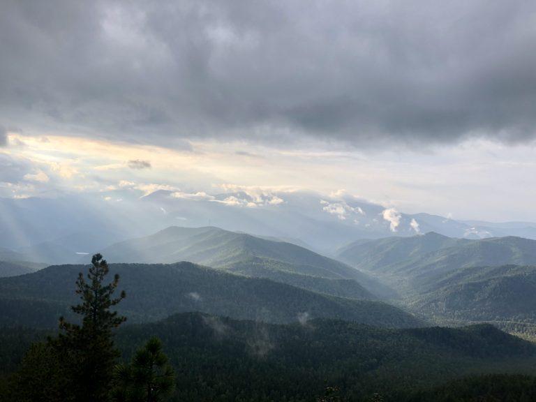 «Вид с горы Борус»  Инна Петровна Ондар