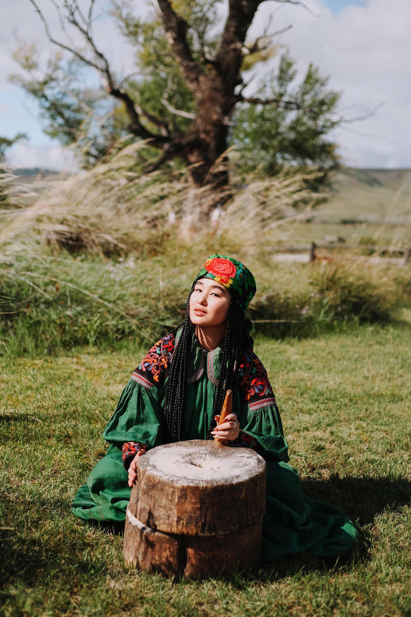 «Теербен»  Пахтаева (Окунева) Мария Егоровна